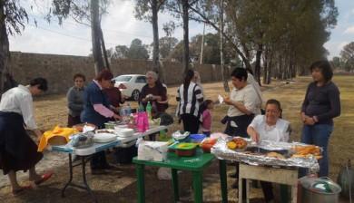 Día de campo en Lagunillas